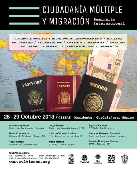 Poster Seminario Int Ciudadania Multiple y Migracion