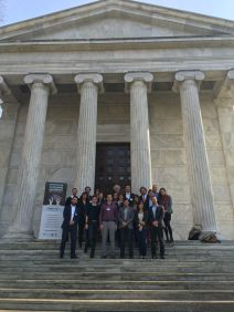 conference-participants-at-whig-society-portico_25655578323_o